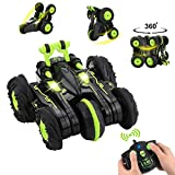 BBLIKE Remote Control Car, 2.4GHz 4WD Stunt Car 360° Spins & Flips Off-road