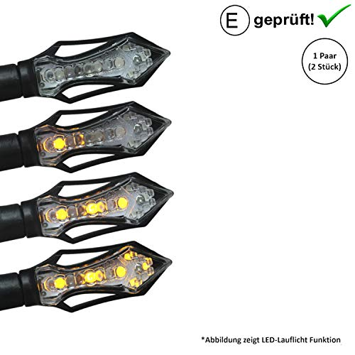 LED knipperlichten compatibel met Flex Tech Luna, Napoli, Piacenza, Riva, Speedmax (E-getest/2 stuks) (B17)