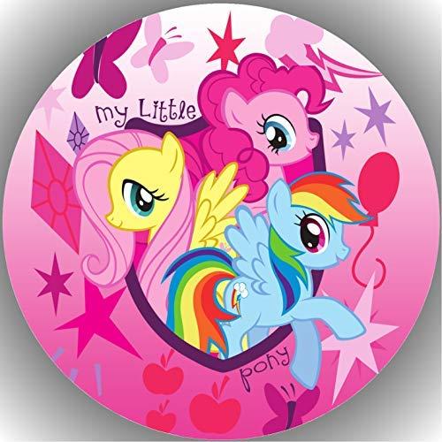 Fondant Tortenaufleger Tortenbild Geburtstag My Little Pony T5