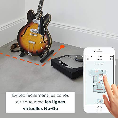 Neato Robotics D750 Aspirateur Robotique Premium Pack avec Accessoires Exclusifs pour Animaux Domestiques, Robot Aspirateur pour le Nettoyage des Coins, Tapis et Sols Durs, Compatible avec App/Alexa