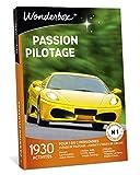 Wonderbox – Coffret cadeau pour homme - PASSION PILOTAGE – 1930 stages de pilotage Ferrari, Lamborghini, Porsche, rallye, karting, drift moto pour 1 à 3 personnes