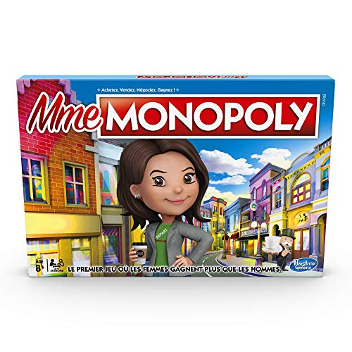 Mme Monopoly - Juego de mesa (versión francesa)