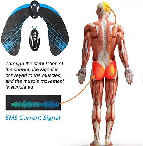 Moonssy Glutei Elettrostimolatore Muscolare, HipTrainer, Elettronico Natica Trainer, Glutei Allenatore, Glutei Allenatore Intelligenti per l'anca Donna Intelligent