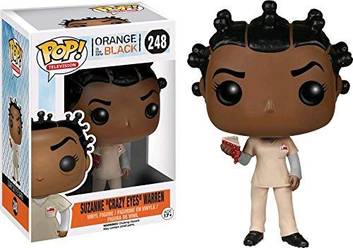 Orange Is the New Black POP! Television Vinyl Figure Suzanne Crazy Eyes Warren (With Pie) 10 cm Funko Mini figures