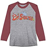 Jumping Beans Boys 4-12 Seuss Seuss Character Logo Graphic Tee Boys 7 Heather Gray