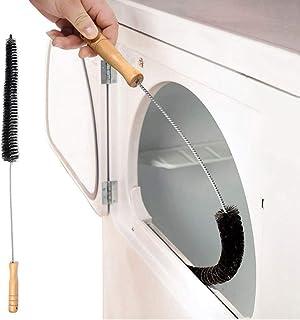P12cheng Brosse pour machine à laver, sèche-linge, grille d'aération, tuyau d'échappement, outil de nettoyage