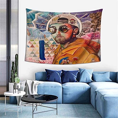 Q-haniqinhang Ma-C Mill-Er Tapestry Wall Hanging Tapestries Blanket Wall Art For Dorm Decorations Living Room Bedroom Home Decor 60x40 Inch