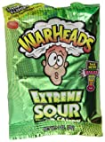 Warheads Extreme Sour Candy 28 g (Pack of 6) -