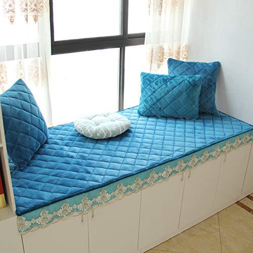WZR Erker Vensterbankpad met dikke fluffy antislip, wasmachinebestendig, sofabeschermhoesjes, vloer, tatamimat, balkondeur, slaapkamer
