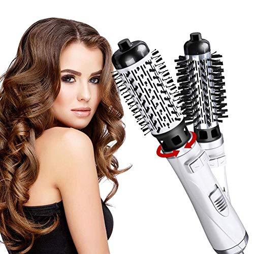 Brosse Soufflante Rotative, 3 In 1 Hair Dryer Brush, Brosse Coiffante, Multi-Fonction Brosse Chauffante Et Brosse Air Chaud Portable, Négatif Ion Bigoudi Électrique Peigne Air Chaud