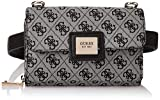 Guess CANDACE CNVRTBLE XBDY BELT BAG, bolso para Mujer, Negro, Talla única