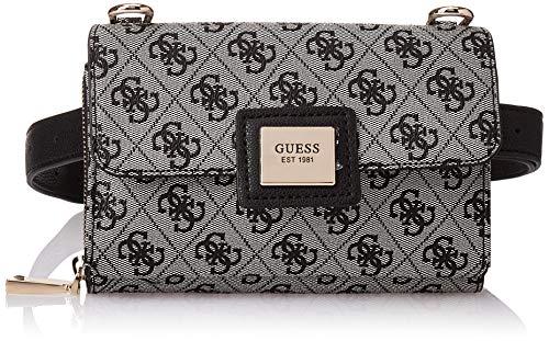 Guess Damen Candace CNVRTBLE XBDY Belt Bag Klassisch, Schwarz, Einheitsgröße
