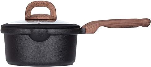 Saucepan Milk Pan Cooking Pot Milk Boiling Melting Pot Nonstick Copper Surface Makes for Effortless Cleanup Soup Pot (Colo...