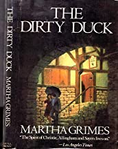 1984 MARTHA GRIMES MYSTERY THE DIRTY DUCK W/DUST JACKET RICHARD JURY DETECTIVE