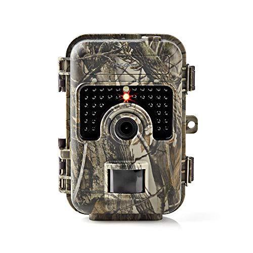 HD Wildkamera Überwachung Nachtsicht Fotofalle Bewegungsmelder Foto Kameraüberwachung