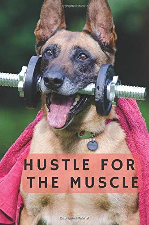 スクレーパー群れペルーHUSTLE FOR THE MUSCLE: Motivational WORKOUT Notebook (110 Pages, grille, 6 x 9) (MOTIVATIONAL WORKOUT NOTEBOOKS)