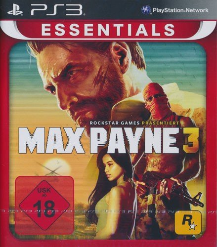 Rockstar Games Max Payne 3 Essentials PS3 Básico PlayStation 3 Alemán vídeo - Juego (PlayStation 3, Acción, M (Maduro))