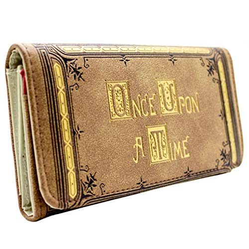 ABC Once Upon a Time Or Embossed marron Portefeuille