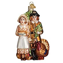 HAND-CRAFTED: Our Christmas Ornaments have been hand-crafted using age-old traditions that originated in the 1800s to bring you the highest quality ornaments for your tree Our Pilgrim Thanksgiving Glass Ornament will add a beautiful,elegant touch to ...