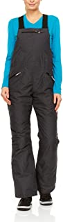Swiss Alps Womens Waterproof Breathable Ski Bib Pants with Pockets