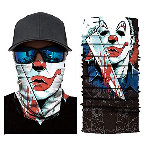 Multifunctionele Snood - 3 Stks/set Alien Masker Naadloos Balaclava Joker Outdoor Schedel Vissen Sport Wandelen Hoofddeksels Hoofdband