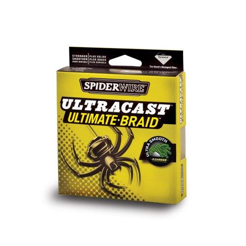 Spiderwire Angelschnur Ultracast invisi-Braid, transparent