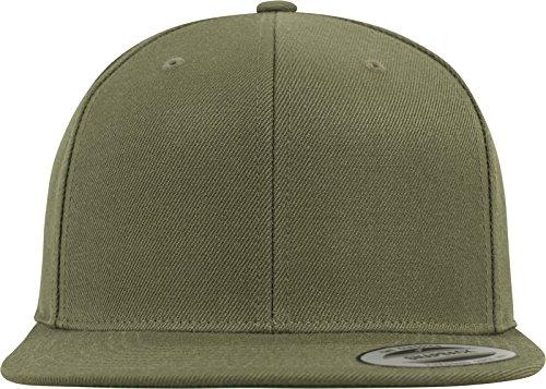 Flexfit Classic Snapback Cap, Mütze Unisex Kappe für Damen und Herren, One Size, Farbe buck