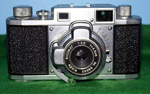 RICOH 35 : Rangefinder Camera with RIKEN RICOMAT Lens
