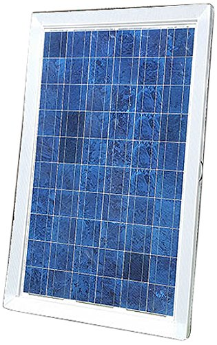 Natural Current NC13KWDYIKIT Home and Garden Boat RV Solar Panels with DYI Solar Floating or Ground Hillside Casing Installation Setup Kit, 250W, 52-Pack