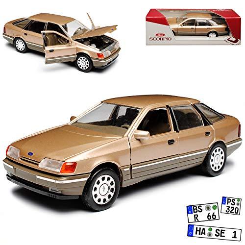 Schabak Ford Scorpio Limousine Bronze Braun 1. Generation 1985-1994 1/24 1/25 Modell Auto