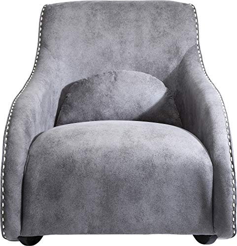 Fauteuil Rocking Chair Swing Ritmo Vintage gris Kare Design