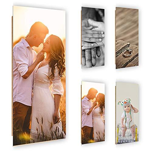 Feeby Deco Panel mit Ihrem Wunschmotiv Wandbild XXL Deko Bilder 60x150 cm
