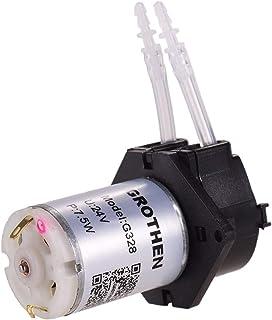 DC 24V Dosing Pump Peristaltic Pump Mini Water Liquid Pump Peristaltic Tube Head Self-Priming Function for Aquarium Lab Ch...