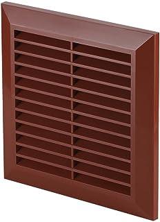 HG Power pl/ástico ABS, 150 mm de di/ámetro, resistente a la intemperie, protecci/ón contra insectos, rejilla de ventilaci/ón, ventilaci/ón de puerta, aire de salida, ABS Rejilla de ventilaci/ón redonda