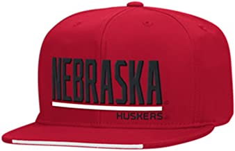 adidas Nebraska Cornhuskers Multi Team Colors Adult Snapback Hat Red
