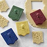 Hogwarts Harry Potter Williams-Sonoma Cookie Cutter Gryffindor, Hufflepuff, Slytherin, Ravenclaw