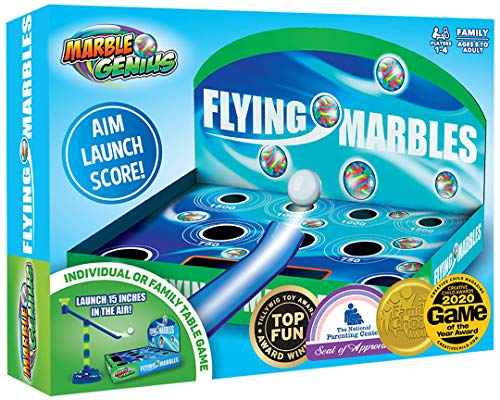 Flying Marbles Action Game: The Award Winning Family Table Game  AIM Launch Score
