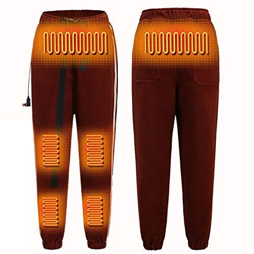 Pantalones Con Calefacción USB Pantalones Con Calefacción Inteligente Pantalones Eléctricos Cálidos Pantalones Con Calefacción Con Aislamiento Lavable