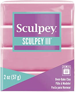 Sculpey III Polymer Clay 2 Ounces-Dusty Rose