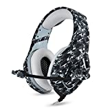 BIBOX K1 Gaming Headset for Xbox One, PS4, PC, Stereo Bass Surround...