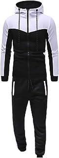 Roiper Homme Sweat à Capuche et Pantalon Longue pour Sport Sportswear Jogging 2 Pièces Survêtement Ensemble de Sport Casual