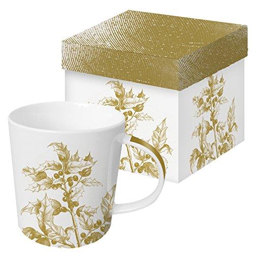 PPD Trend Mug Becher Tasse Henkelbecher Engraved Flora in Geschenkbox