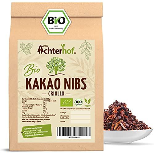 vom Achterhof Kakaonibs Roh Bio Vegan Bild