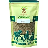 Arya Farm Certified Organic Without Chemicals Pesticides Edible Ajwain Spice Seeds 100 Gm (Pack Of 4)