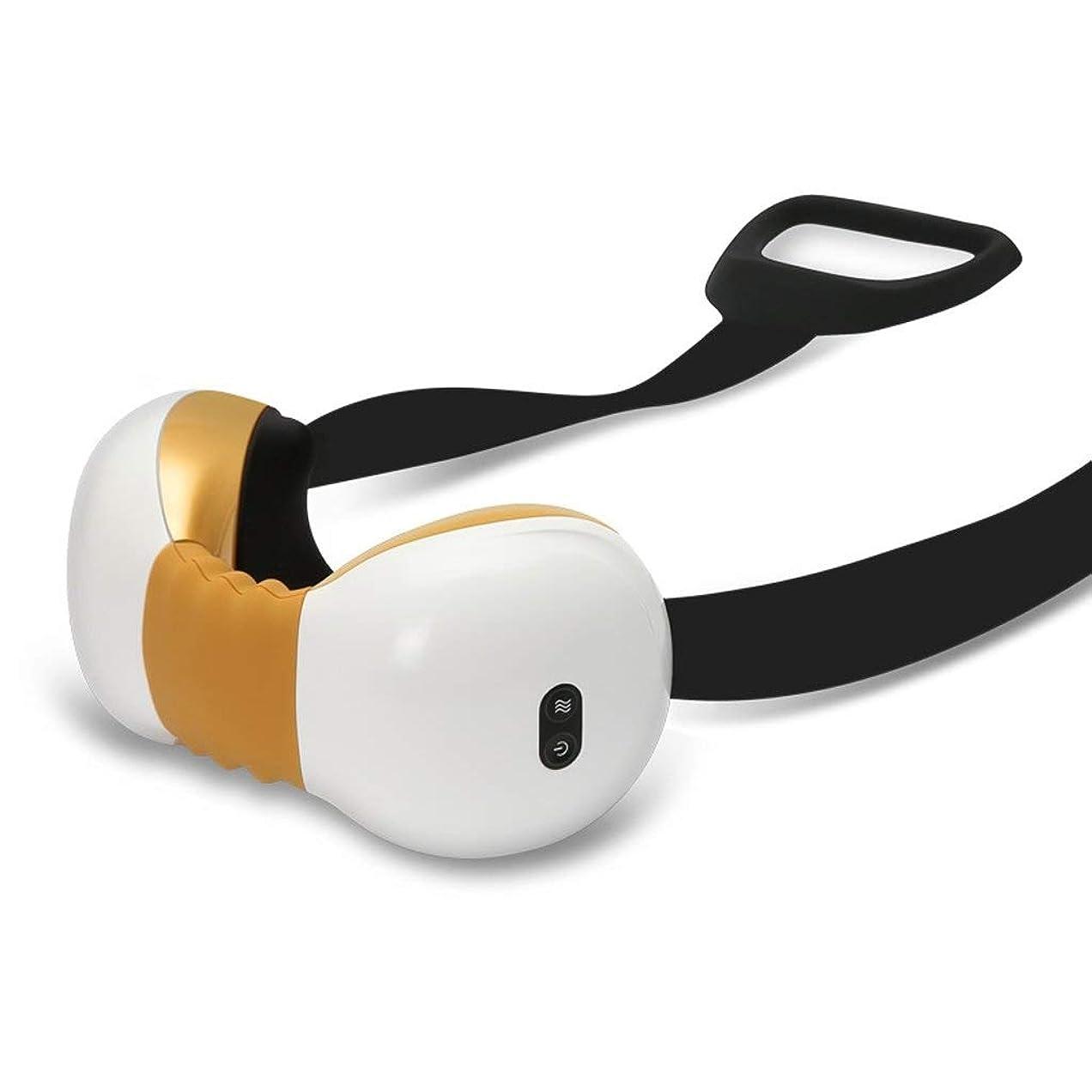 バンジージャンプ野心電圧XMamyzy 取り外し可能なストラップ付きネックマッサージャー、痛みを和らげるための充電式バッテリー