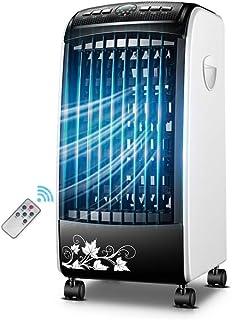 XIAOYAN Ventilador de Aire Acondicionado portátil Refrigerador portátil de humidificación 3 L Tanque de Agua con/sin Control Remoto 65W (Color : Black-002)