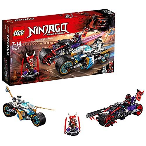 LEGO 70639 Ninjago Carrera callejera del jaguar-serpiente