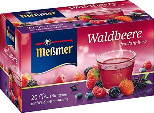 Meßmer Waldbeere 20 TB, 5er Pack (5 x 50 g Packung)