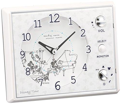 セイコークロック『Disney Time (ディズニータイム)FD478W』