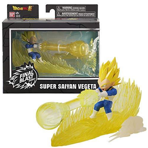 Bandai. Dragon Ball Super. Action figure Final Blast da 9 cm. Super Saiyan Vegeta. 36152